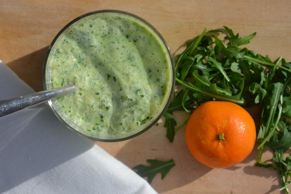 Grüner Smoothie Winter Power Drink