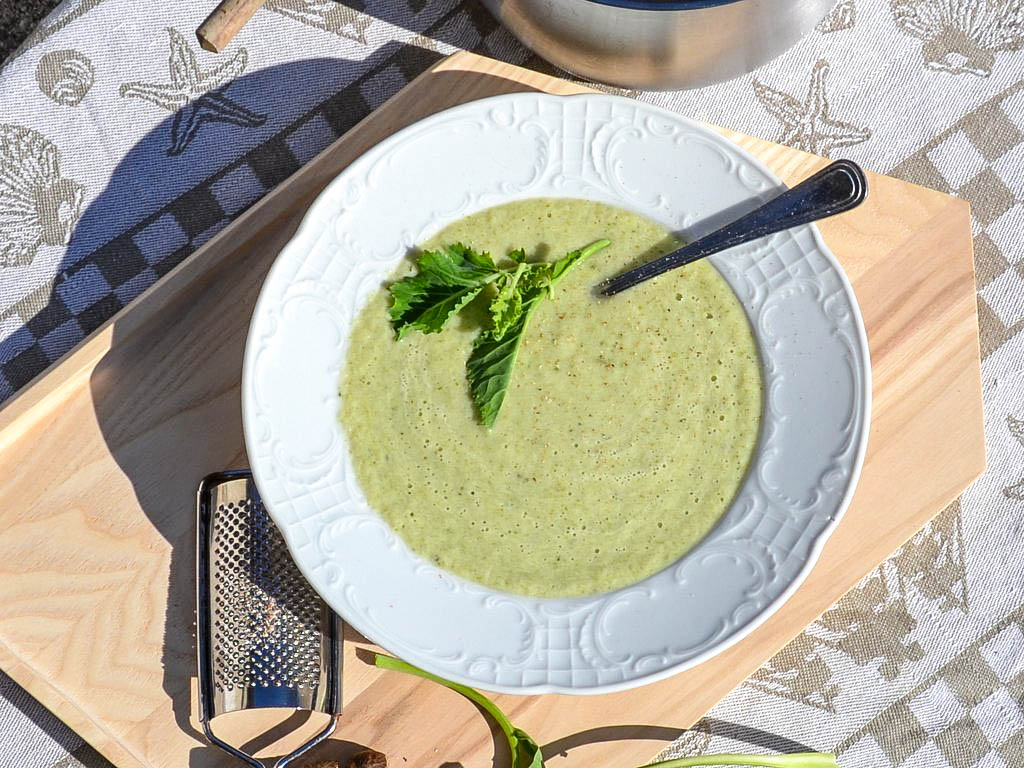 Kohlrabi Buttermilch Suppe