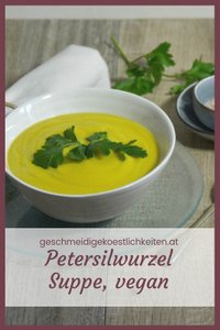 Sämige Petersilien Suppe